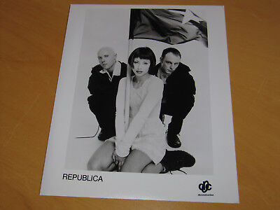 Republica - Original Uk Promo Press Photo (B)