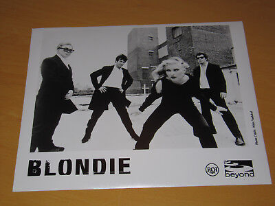 Blondie - Original Uk Promo Press Photo (C)