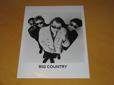 Big Country - Original Uk Promo Press Photo (X)