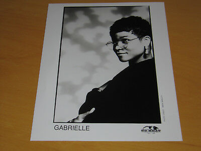 Gabrielle - Original Uk Promo Press Photo (A)