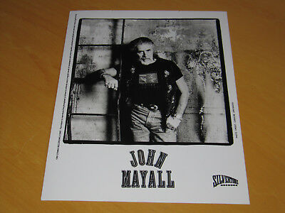 John Mayall - Original Uk Promo Press Photo (A)