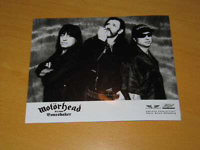 Motorhead - Original Uk Promo Press Photo (A)