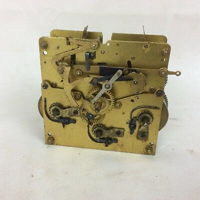 Vintage Brass Kienzle Clock Movement With Chimes