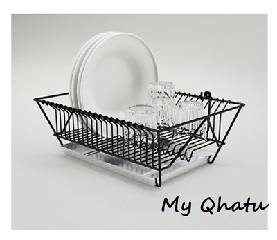 IKEA FINTORP DISH drainer with removable tray hang or stand drying rack  holder