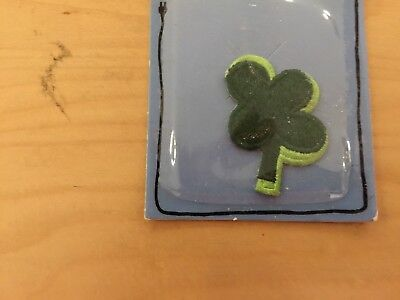 4 leaf clover patch, new old stock, 1980's