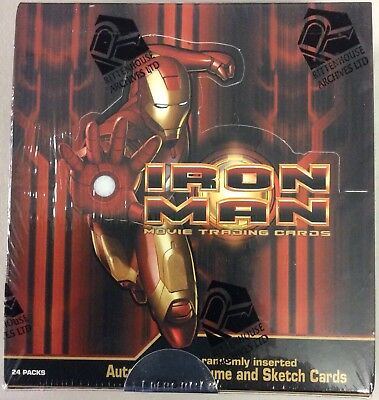2008 Rittenhouse Iron Man 1 Movie Factory Sealed Trading Card Box