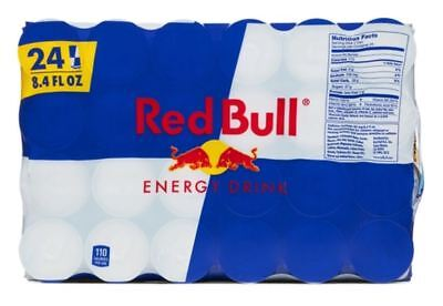 Red Bull Energy Drink - 24 Pack of 8.4 Fl Oz - NO TAX & FREE SHIPPING!