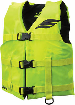 NEW Slippery Kids Youth HYDRO Nylon Watercraft Vest/Life Jacket (Yellow/Black)
