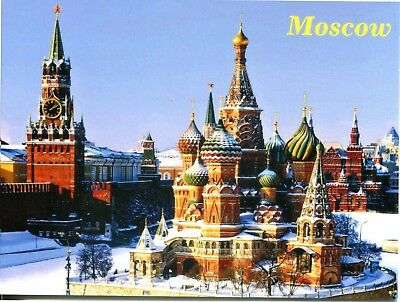 Postcard Kremlin In Moscow And The Russia Russian Orthodox Church