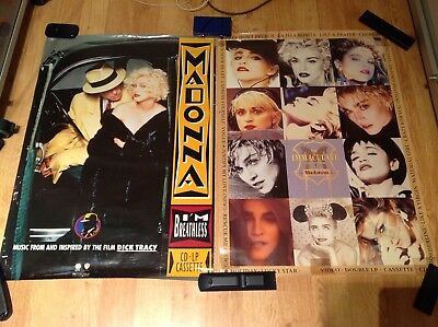 Madonna I'm Breathless & The Immaculate Collection poster