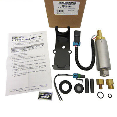 Mercruiser New OEM Factory Electric Fuel Pump Kit 861155A5, 861155A6