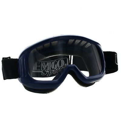 Emgo Sports New Quality ATV UTV Snowmobile Blue Riding Googles, B1061