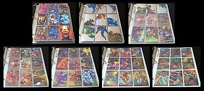 1995 Marvel Flair Annual Complete Master Set! All Base AND Insert Cards!