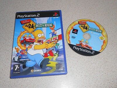 The Simpsons: Hit & Run -- ( Sony PlayStation 2 PS2 ) UK PAL *