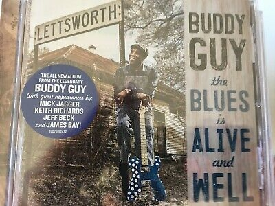 BUDDY GUY - The Blues Is Alive And Well CD 2018 RCA / Sony BRAND NEW!