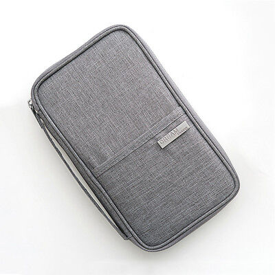 Solid Color Passport Cover Waterproof Card Holder Portable Card Bag  Hot