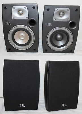 Pair JBL Northridge N24 Two Way Speakers One Is A N24II