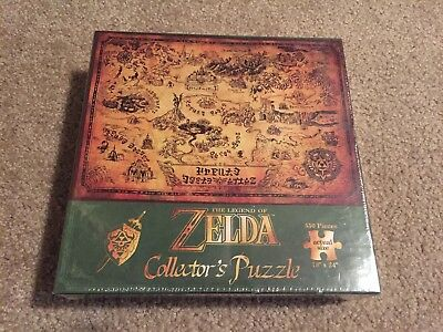 The Legend of Zelda Collector's Puzzle 550 USAopoly Official Nintendo item BNIB