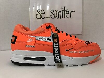 Nike Wmns Air Max 1 LX Just Do It Pack White Orange NSW Shoes Sneakers Pick  1 6efeecd28