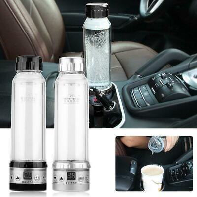 12/24V Car Electric Kettle Boiling Water Warmer 280ml Bottle Digital Temp Adjust