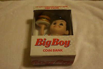 Bob's Big Boy Restaurant Coin Bank BRAND NEW IN BOX