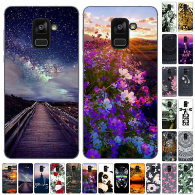For Samsung J6 Plus 2018 J3 J5 J7 Pro 2017 Silicone Painted Soft TPU Case Cover