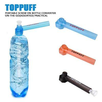 1pc Portable Smoking Pipe Screw On Bottle Converter On-the-Go Hookah Accessory