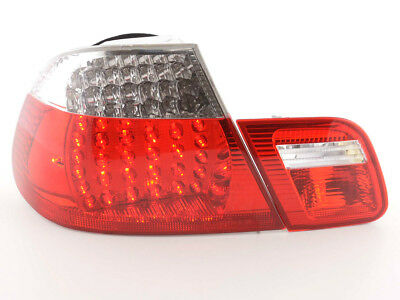 FK-Automotive LED Rückleuchten Set BMW 3er Coupe Typ E46 Bj. 99-03 klar/rot