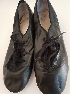 Boys Irish Dance Shoes  SOFT REEL split sole 8.5 leather