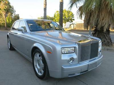 2005 Rolls-Royce Phantom sedan 2005 Rolls Royce Phantom damaged rebuildable salvage wrecked 05 Low reserve