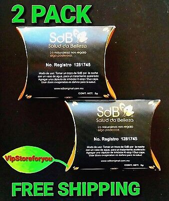 2 PACKS SEMILLA DE BRASIL XL SIZE BRAZIL SEED REDUCE 10 to 12 POUNDS IN MONTH