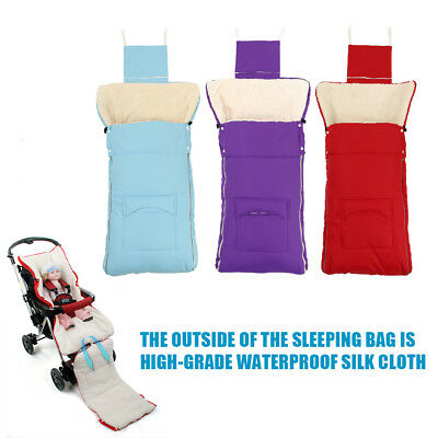 Baby Universal Toddler Stroller Cosytoes Liner Buggy Pads Footmuff Sleeping Bags