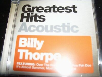 BILLY THORPE Greatest Hits Acoustic CD – New (Not Sealed)