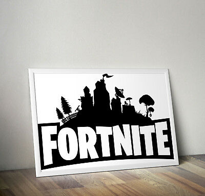 FORTNITE Gaming Video Game Poster Print A3 A4 SIZE Glossy Christmas Gift