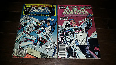 The Punisher Annuals #1 #2 ( 1988-89 Marvel) VF/NM-