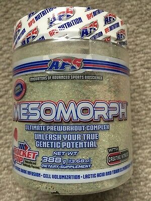 Aps Mesomorph Pre Workout Original Formula - Rocket Pop - Read Description