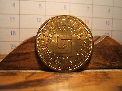 SUMMIT  Electric Supply 1977 Token FIVE DOLLAR GOOD FOR ANY PURCHASE New Mexco
