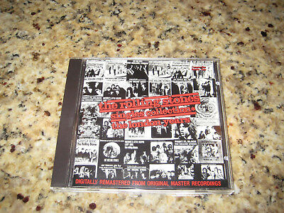 The Rolling Stones Singles Collection, the London Years Cd. #3. Very Good.