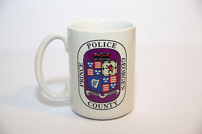 Prince George's County Police You Hold The Key Coffee Cup