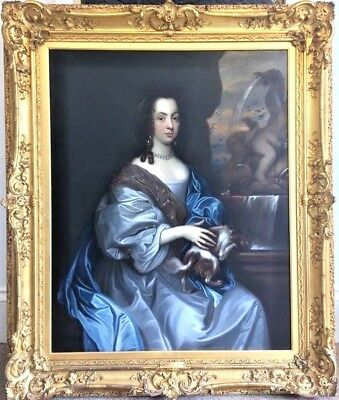 Sir Peter Lely Portrait of a Lady  c.1665 Amazing 17th Century Painting