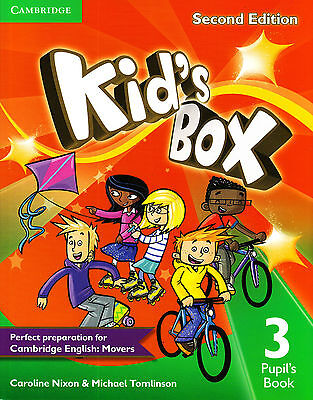 Cambridge KID'S BOX 3 Pupil's Book / Coursebook SECOND EDITION @NEW@