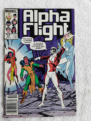 Alpha Flight #27 (Oct 1985, Marvel) Newsstand Fine