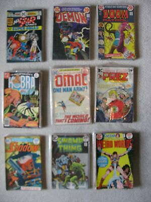 80 Bronze Age Dc Comics  From The 1970's Mixed Lot
