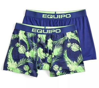 NWT Men's Equipo 2-Pack Floral Boxer Briefs - L, XL