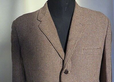Vintage 1950s Gents Tweed Jacket or Blazer (36 Inches 92cm Chest)