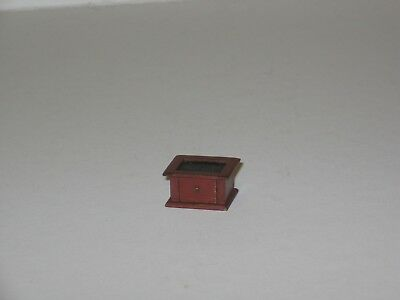 Dollhouse Miniature Foot Warmer 1/12th scale artisan made by Renee Bowen