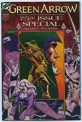 GREEN ARROW #75 Jun 1993 DC Comics SPECIAL ISSUE NM/MT 9.8 W GRELL Story & Cover