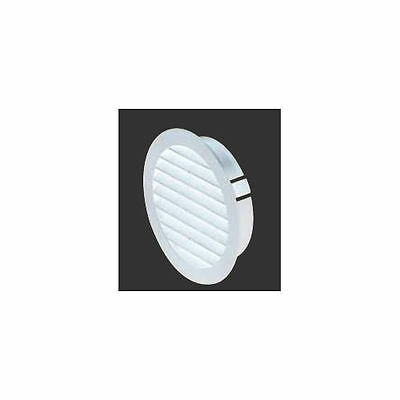 Manrose external weather louvre, ventilation, extractor fan, plastic ducting