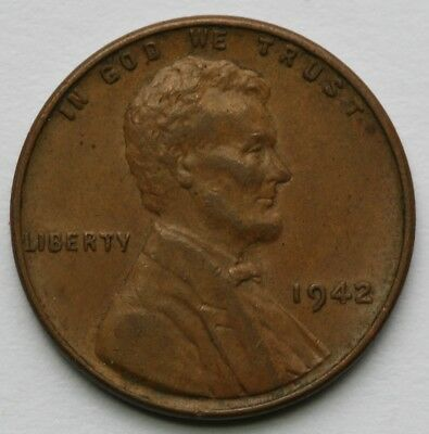 1942 Lincoln Cent Extra Fine US Coin