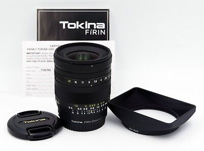 Tokina Firin 20mm f2 FE MF Lens for Sony E-Mount Full Frame FREE SHIPPING!!!!